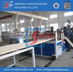 PC, PP, PVC Corrugated Board Extrusion