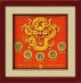 中华传统文化古铜钱礼品五福献瑞 2