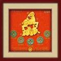 商务礼品古铜钱生肖羊 4
