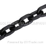 Black Welded Round Link Chain