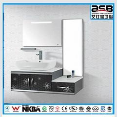 double mirror Stainless Steel bathroom vanities