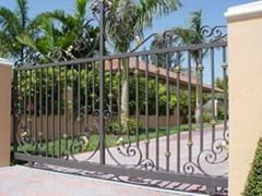 Ornamental Garden Gate metal gate