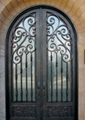wrought iron decorative doors
