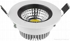 5Wcob筒燈  高檔照明