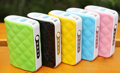 Latest 5200mAh Power Bank with Flashlight (WW-PB009)