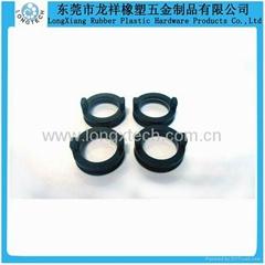 Black mini molded o ring of silicone rubber auto parts