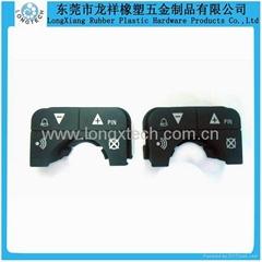 Electronic component silicone keypad