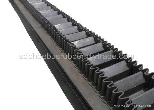 Industrial Corrugated Sidewall Conveyor Belt 1