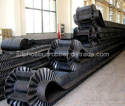Industrial Corrugated Sidewall Conveyor Belt 2