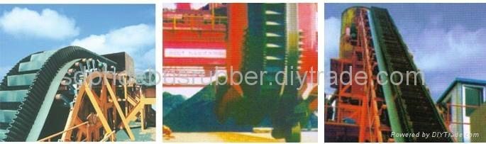 Industrial Corrugated Sidewall Conveyor Belt 5