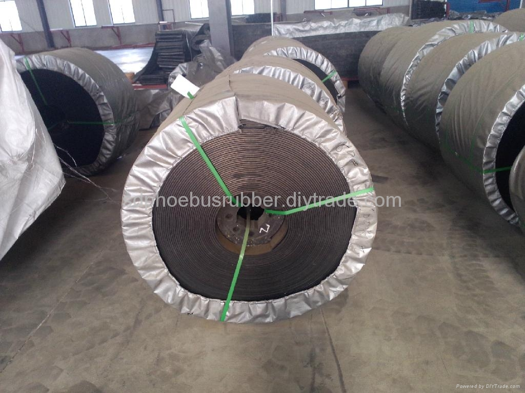 PVC/PVG Solid Woven Conveyor Belt Made In China 1