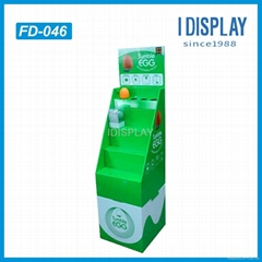step cardboard display stand manufacture cardboard display