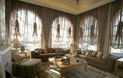 北京遮光布艺窗帘