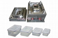 Plastic injection crisper mould-1