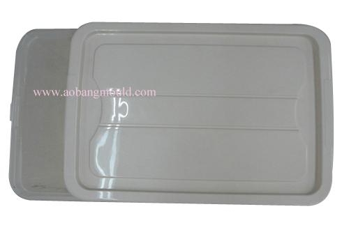 Plastic injection crisper mould-1 2