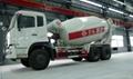 8 CBM concrete mixer truck dimensions