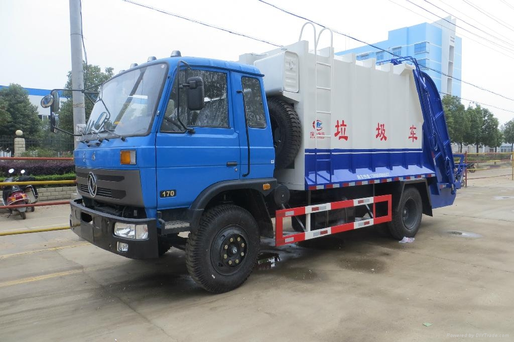 Dongfeng garbage refuse truck for sale 2