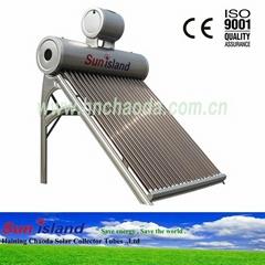 Vacuum Tube Assistant Tank Solar Hot Water Heater