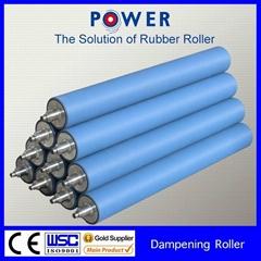 dampening rubber roller