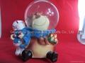 Wholesale custom resin snow globe 3