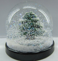 Wholesale custom plastic snow globe