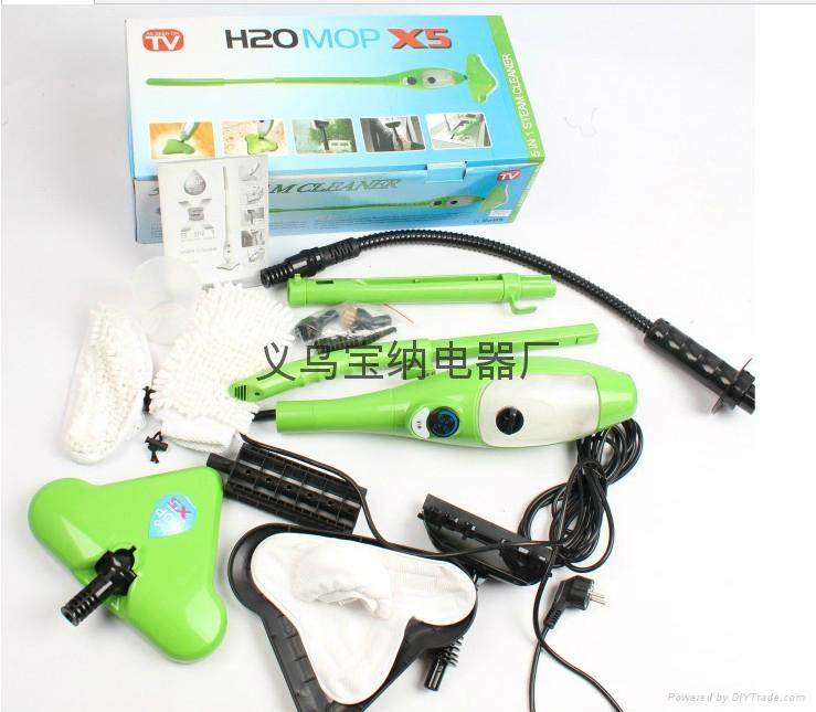H2O MOP X5 五合一蒸汽拖把 5 in 1 steam mop TV蒸汽拖把 2