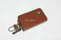High quality leather car key case in stock 4