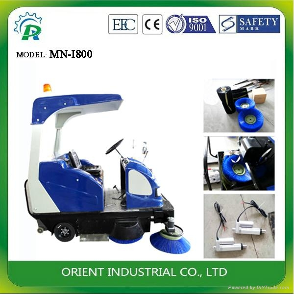Sanitation Heavy Sweeper 1
