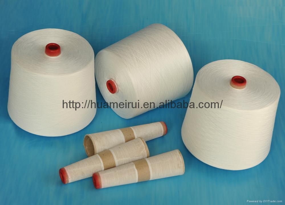 100% Polyester Embroidery Sewing Threads in Paper Cone  1
