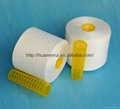 Raw White 100% Polyester Sewing Threads