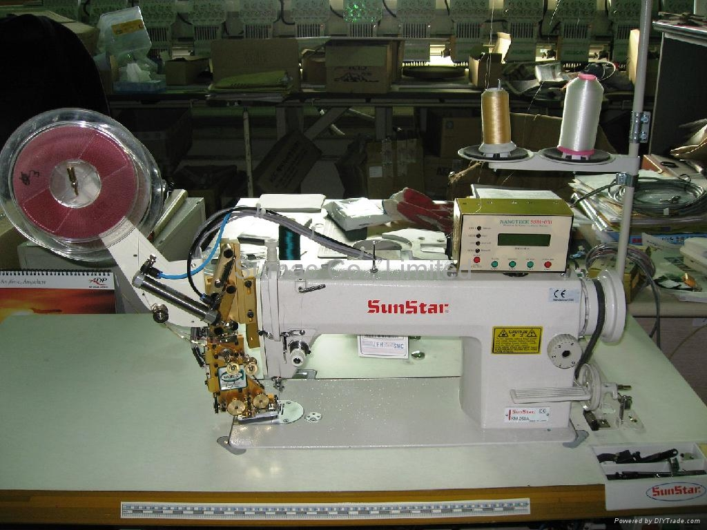 sequins sewing machine
