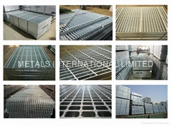 Steel Grating-ANSI/NAAMM(MBG531-88),BS 4592,AS1657