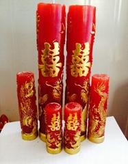工艺蜡烛橡胶模具