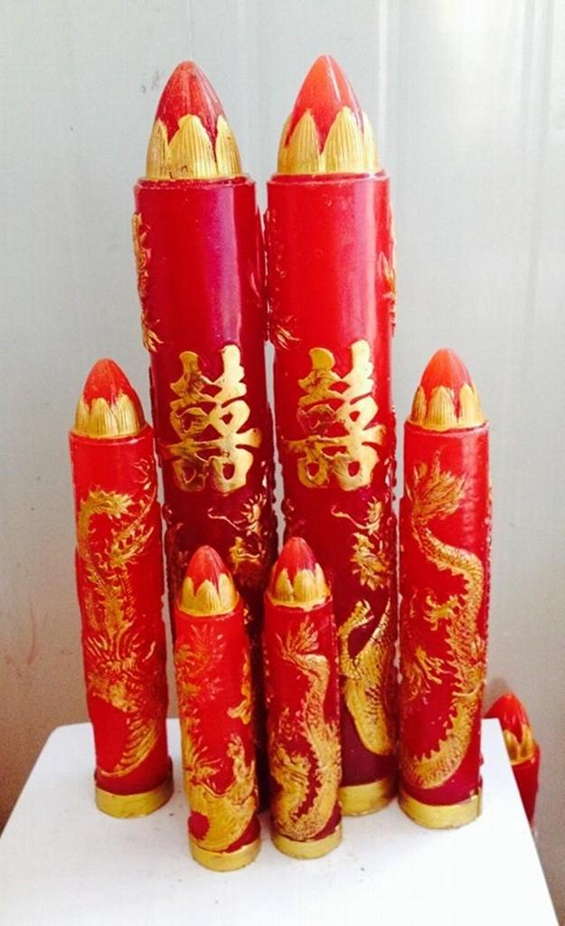 工艺蜡烛橡胶模具 5