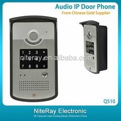 New generation ip intercom door phone,audio door phone system