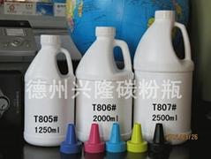 打印机碳粉瓶,包装,墨粉瓶子,塑胶碳粉瓶