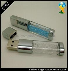 creative gifts crystal USB Flash Drives