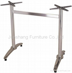 JS-H-104 aluminum outdoor table