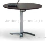 JS-F-408 aluminum contract folding table