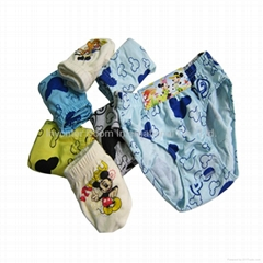 Boy Brief Cotton Short Underpants Kids Cartoon Underwears