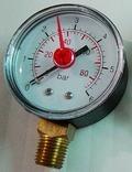 high pressure meter 100mm brass connection bourdon type