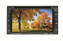 "6.2"" Double din Car DVD/MP4/USB/SD/GPS/IPOD with TV/AM/FM/BT TOUCH SCREEN player"