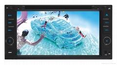豐田通用花冠車載DVD/TV/BT/AM/FM/USB/SD/AUX 6.95寸觸摸屏播放機