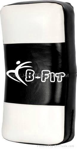 Top Quality Leather MMA Thai Pad or Kick Shield 2