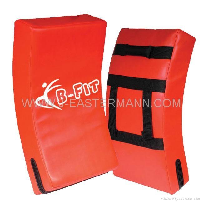 Top Quality Leather MMA Thai Pad or Kick Shield 4