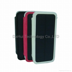Solar power case 2800mah for iphone 5s/iphone 5 solar charger