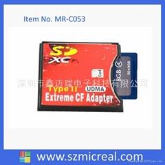 SD卡轉CF適配器
