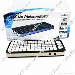 Wireless Min Keyboard and touchpad Mouse
