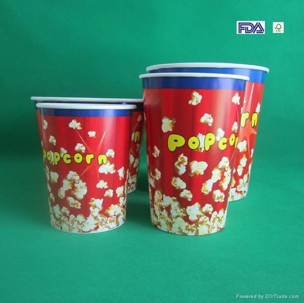 Paper Popcorn Bucket 1