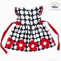2014 new arrive girl summer beautiful polka dots dress 4